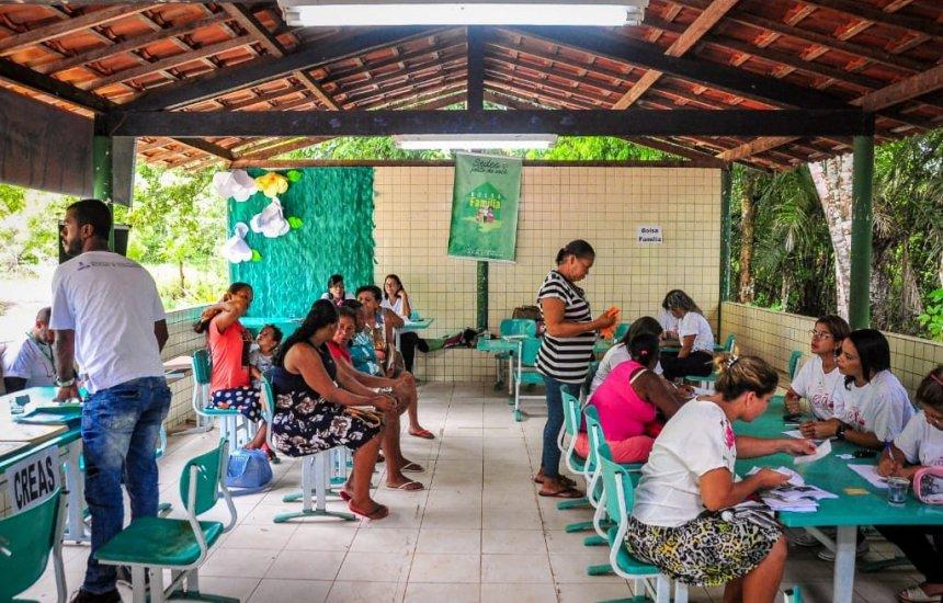 [Serviços sociais contemplam moradores da zona rural de Camaçari]