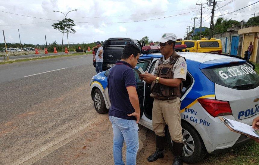 [Polícia Rodoviária inicia operação nas estradas baianas]