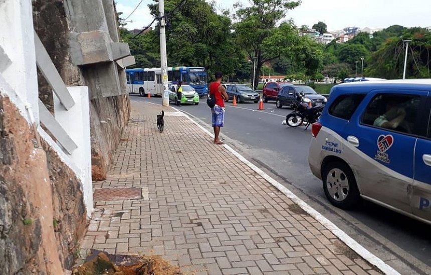 Motociclista morre após sofrer acidente no Dique do Tororó