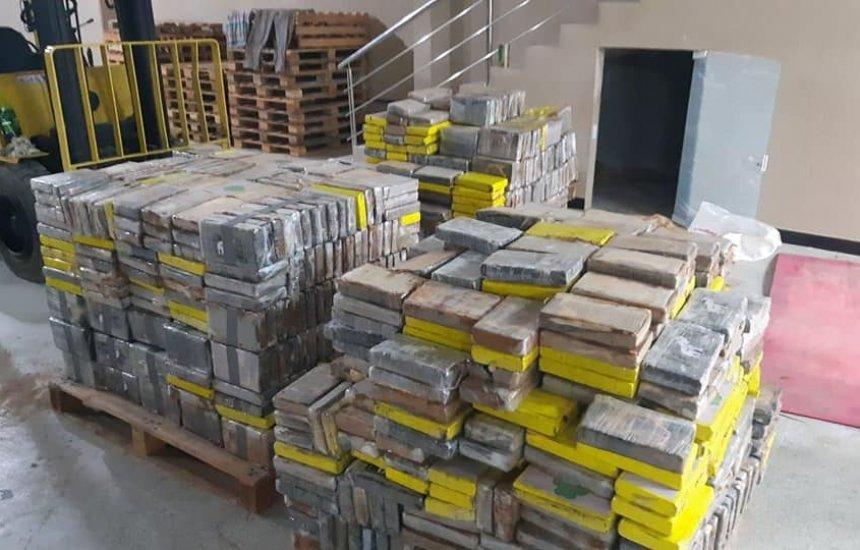 [Operação das polícias Militar e Federal apreende quase 2 toneladas de cocaína em Camaçari]