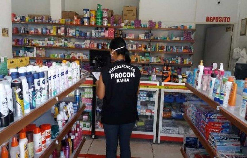 [Procon notifica farmácias por preços abusivos em Camaçari]