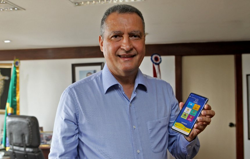 Governador Rui Costa anuncia aplicativo para monitorar Coronavírus