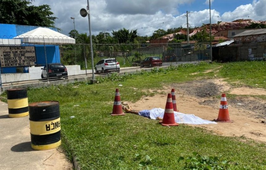 [Grupo assassina detento na porta do Complexo Penal de Simões Filho]