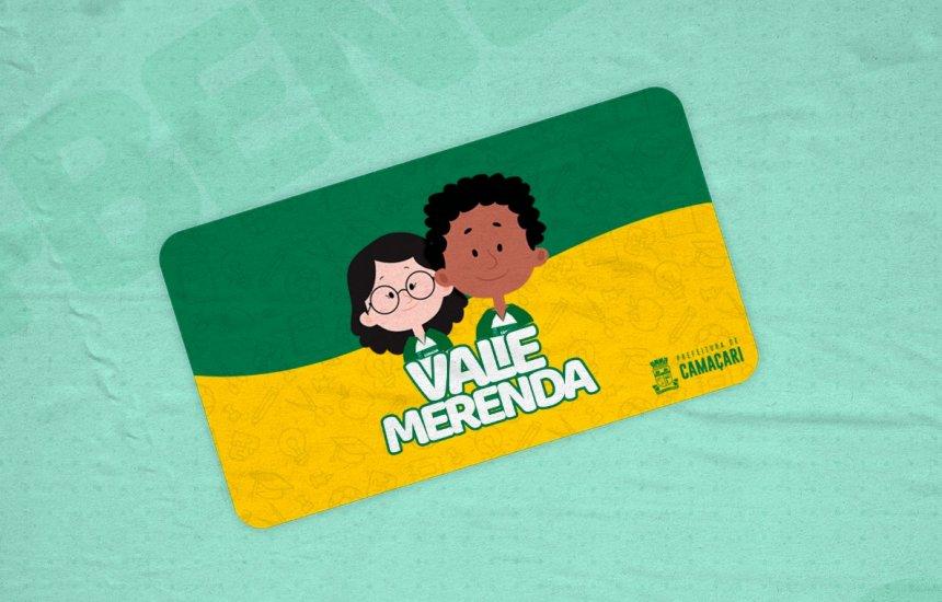 Prefeitura define período de entrega do Vale Merenda da 3ª etapa; confira lista das escolas