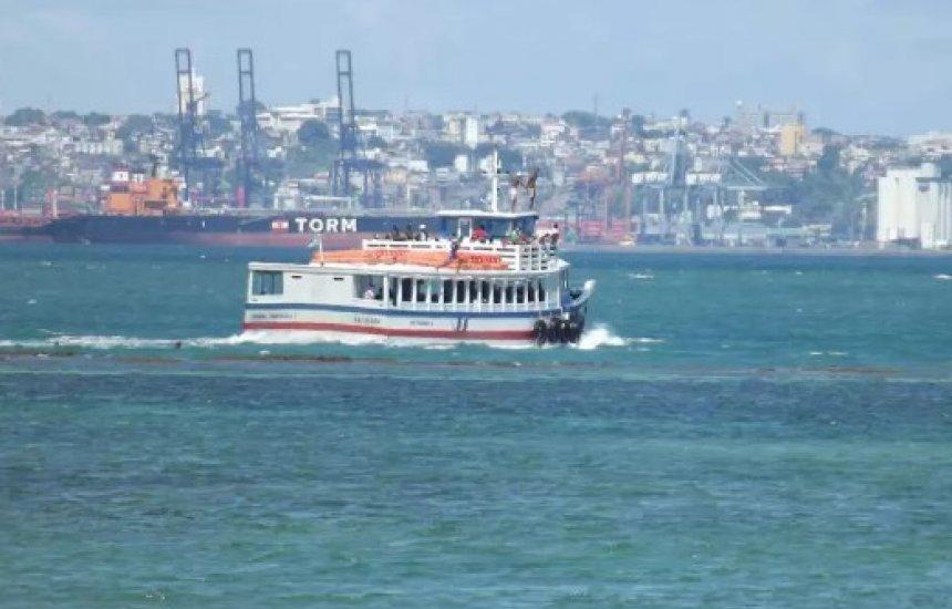 [Operando sem restrições, travessia Salvador-Mar Grande registra fluxo tranquilo nos terminais]