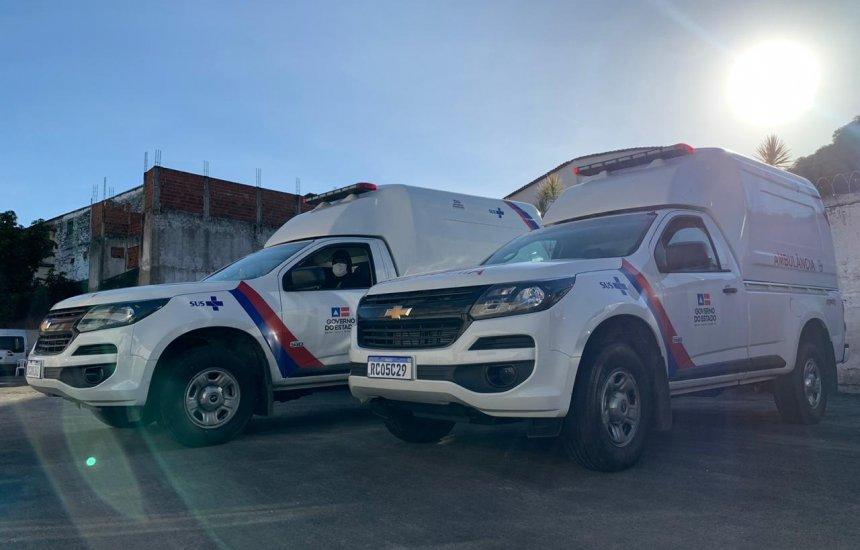 [Ambulâncias são entregues para reforçar combate ao coronavírus em municípios baianos]