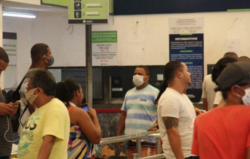 [Uso de máscara passa a ser obrigatório no ferry-boat a partir desta segunda]