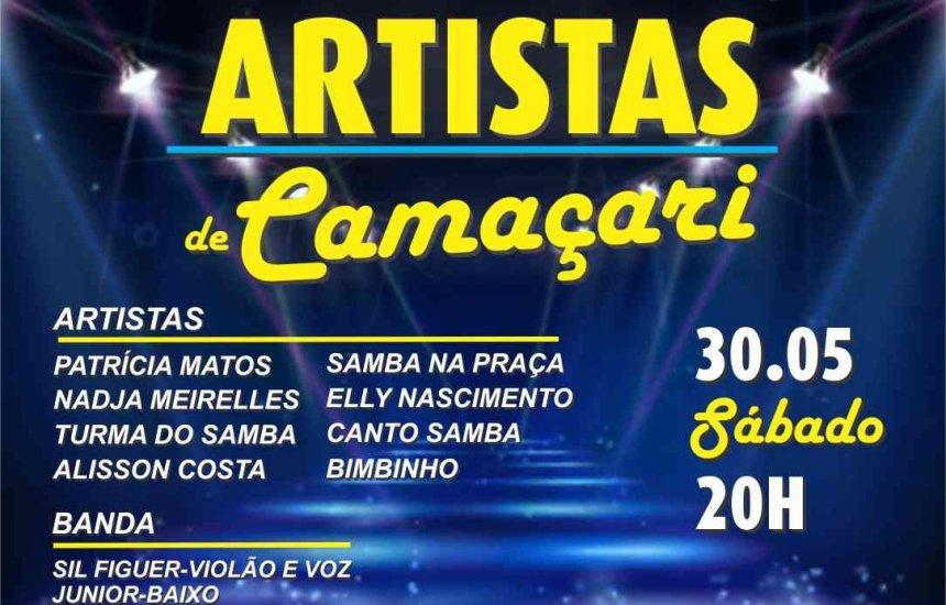 [Artistas de Camaçari promovem live solidária neste sábado]