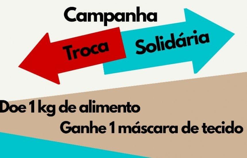 Troca Solidária: Igreja promove ação de troca de alimentos por máscaras em Camaçari