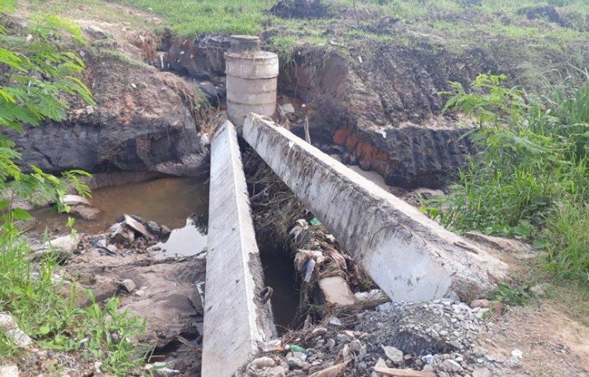 [Seu Bairro no CN: moradora pede construção de ponte no Novo Horizonte]