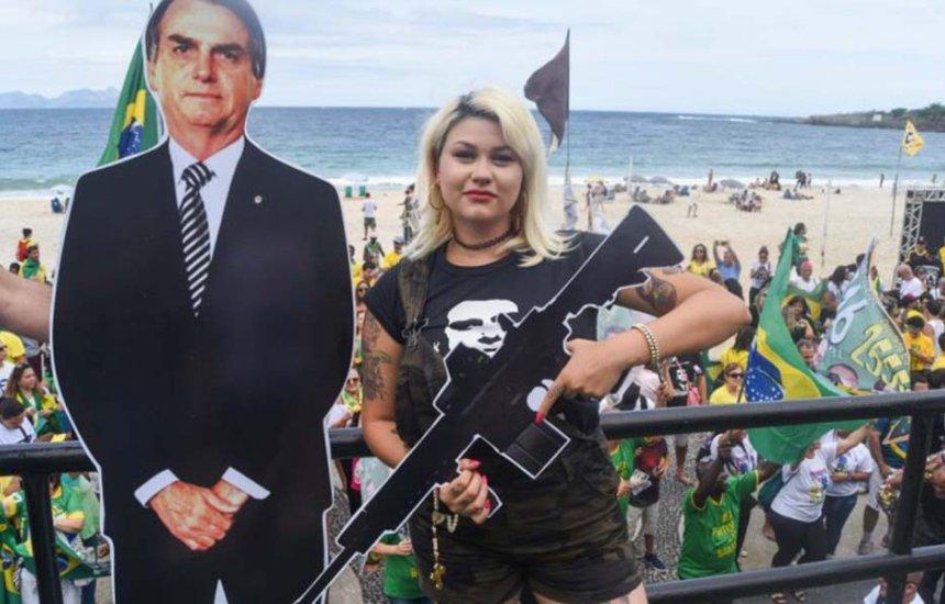[Após ameaçar ministro do STF, ativista Sara Winter é expulsa do DEM]