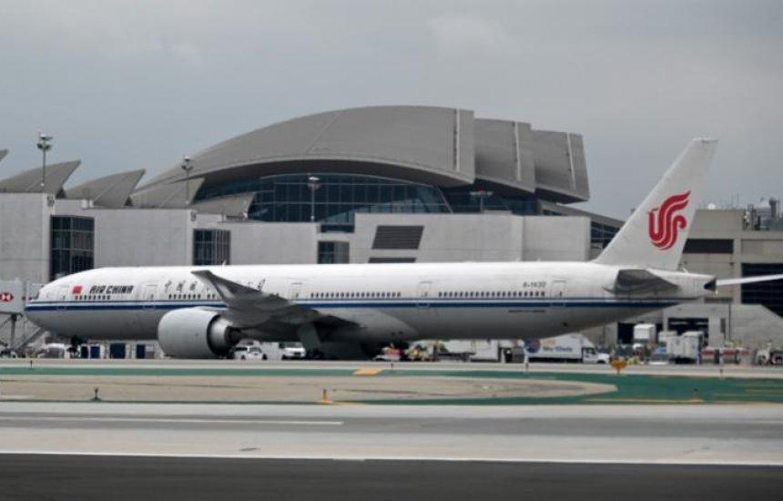 [EUA suspenderá voos de companhias chinesas a partir de 16 de junho]