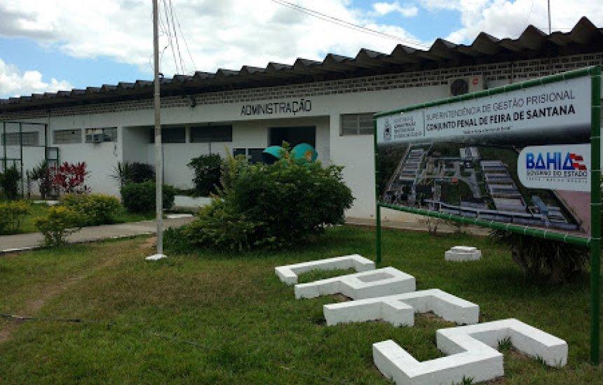 Presídio de Feira de Santana recebe detentos com Covid-19 da Bahia