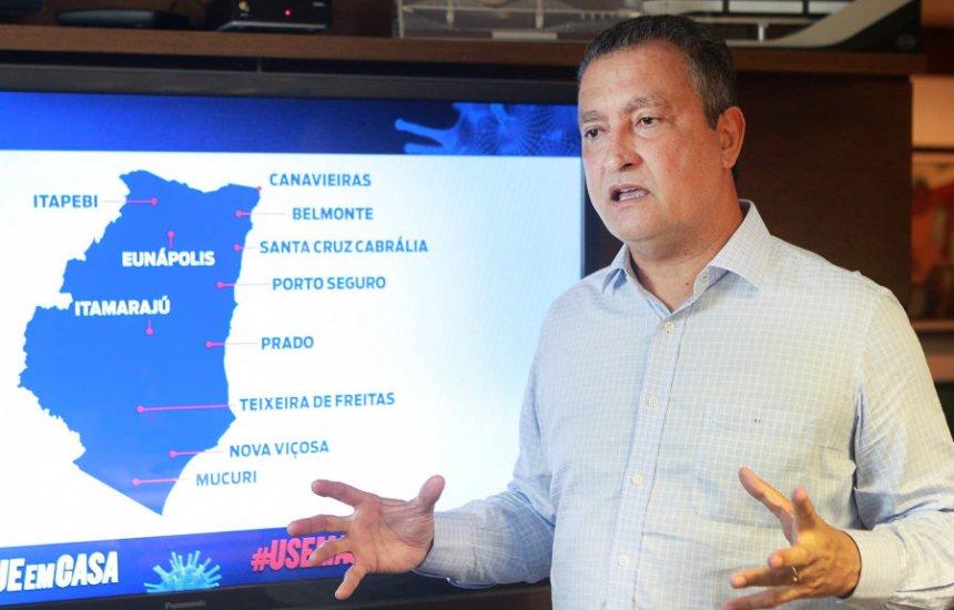 ['Não acredito na volta do regime militar', diz governador Rui Costa]
