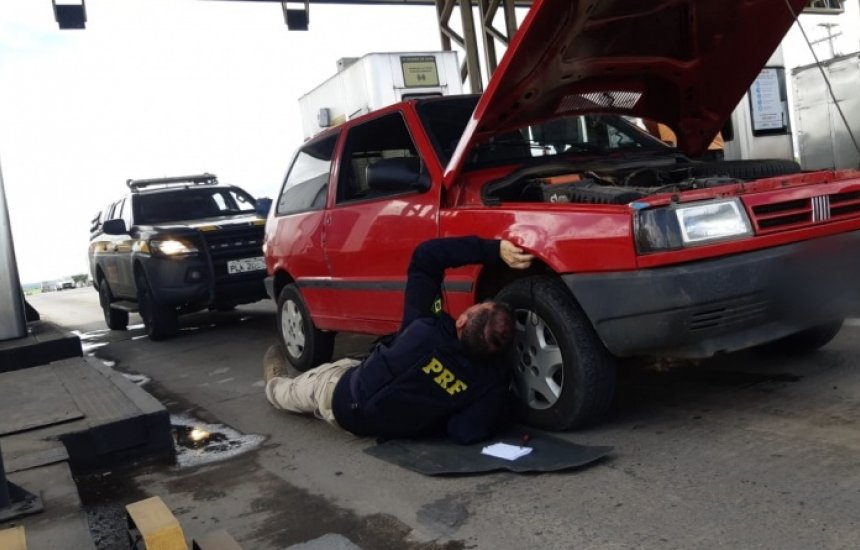 [Veículo roubado há mais de 25 anos em SP é recuperado pela PRF na Bahia]