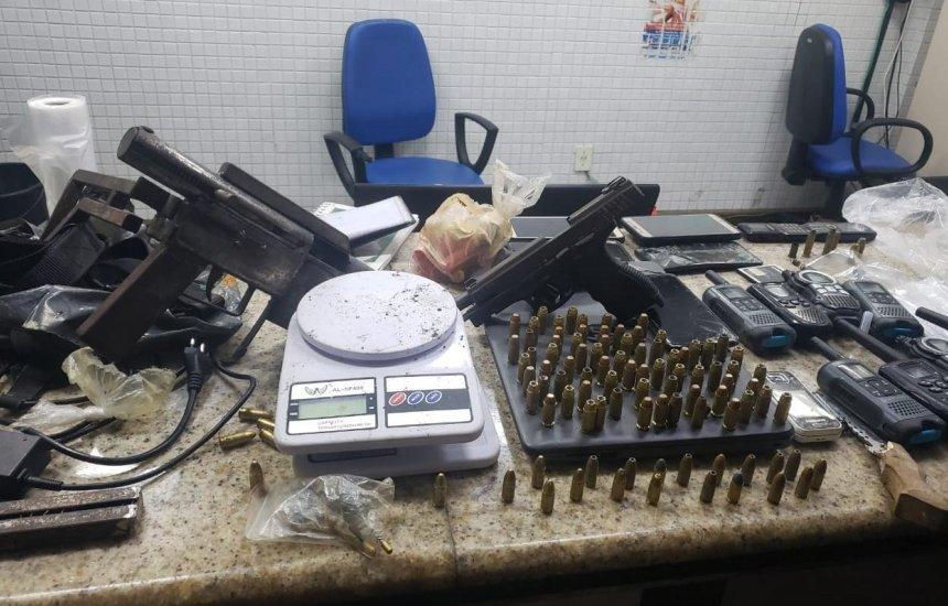 [Operação policial prende seis integrantes de facção que atua no Nordeste da Amaralina e Pernambués]