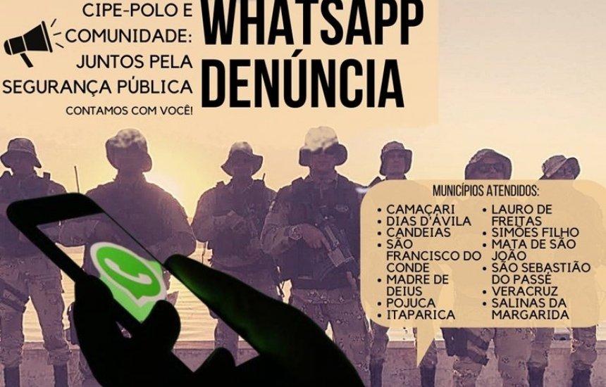 [Segurança: CIPE-Polo conta com serviço de WhatsApp Denúncia]