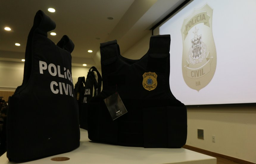 [SSP entrega 1500 coletes balísticos à Polícia Civil da Bahia]