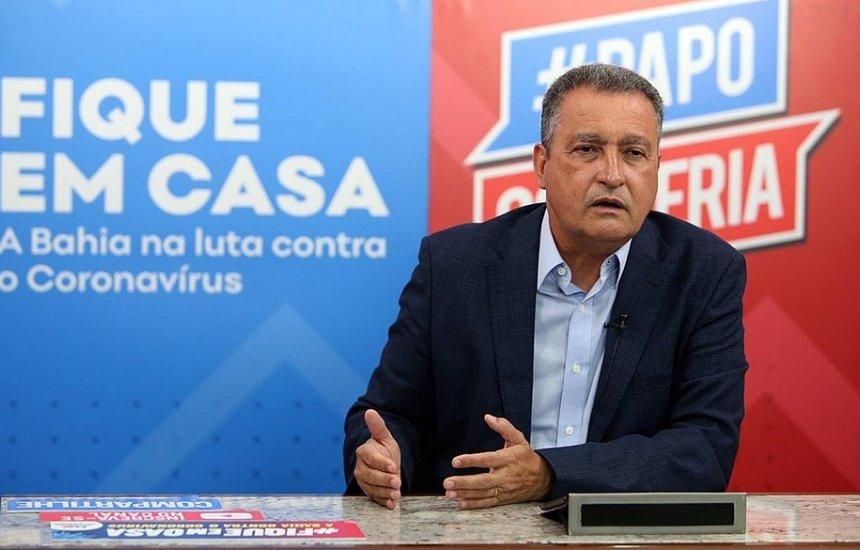 [Número de testagens para a Covid-19 será ampliado na Bahia, anuncia Rui Costa]