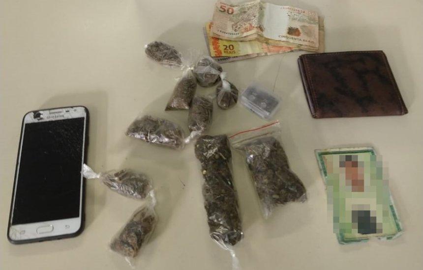 [Policiais da CETO prendem homem com drogas no Parque Verde]