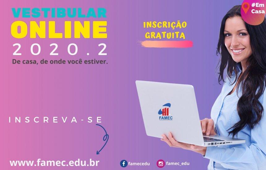 Vestibular Online FAMEC 2020.2