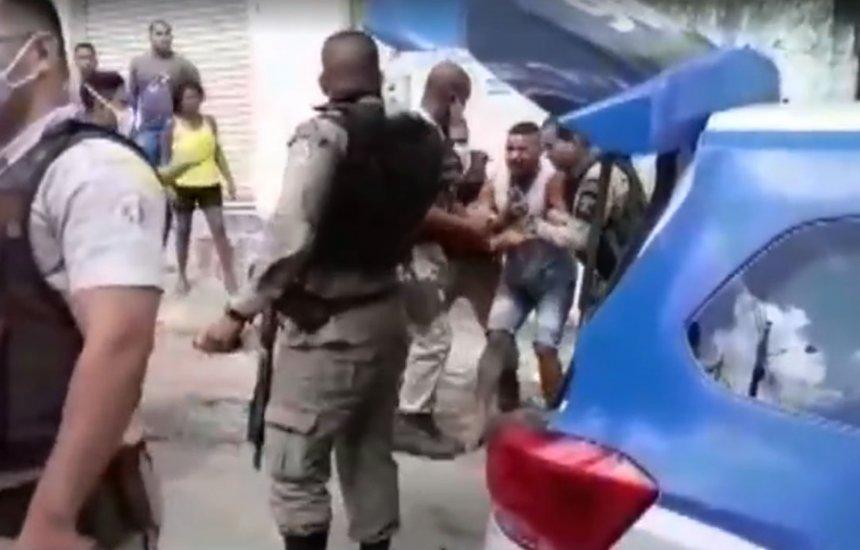 [Após ação violenta em Paripe, comandante geral da Polícia Militar pede desculpas]