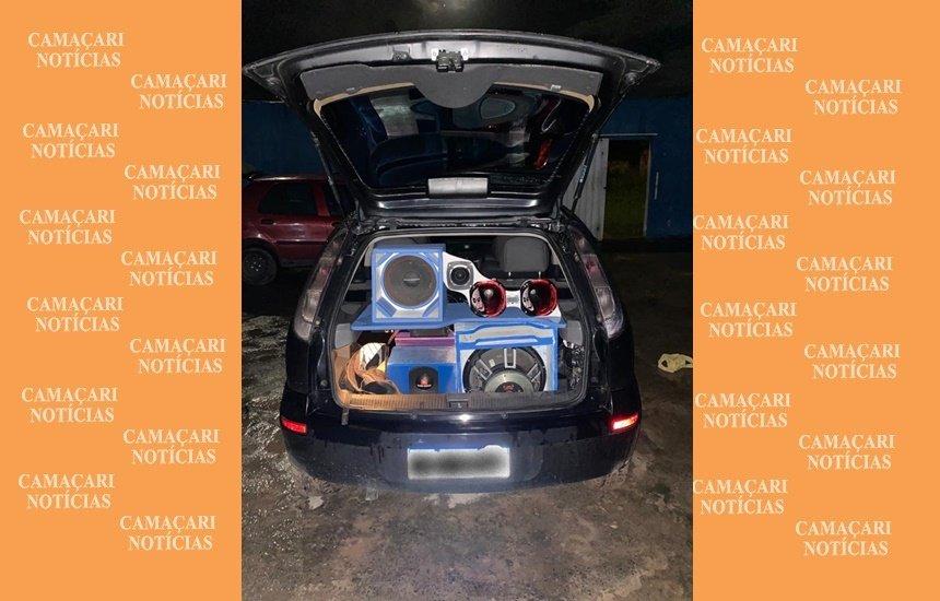 [Quatro veículos são apreendidos por promover aglomeração em vários bairros de Camaçari]