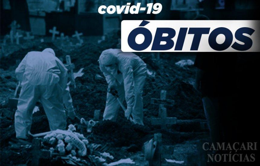 [Dois óbitos por Covid-19 são confirmados em Camaçari nesta quinta]