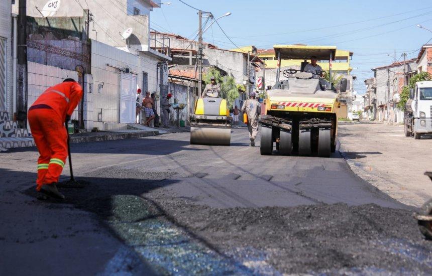 [Obra para melhorar a mobilidade urbana chega ao bairro Novo Horizonte]