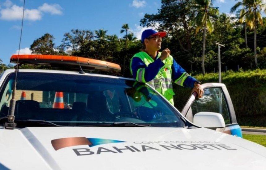 [Bahia Norte realiza intervenções ao decorrer da semana nas rodovias do Sistema BA-093]