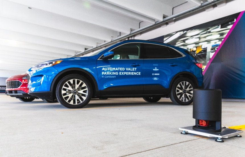 [Ford e Bosch apresentam nova tecnologia de manobrista automatizado]
