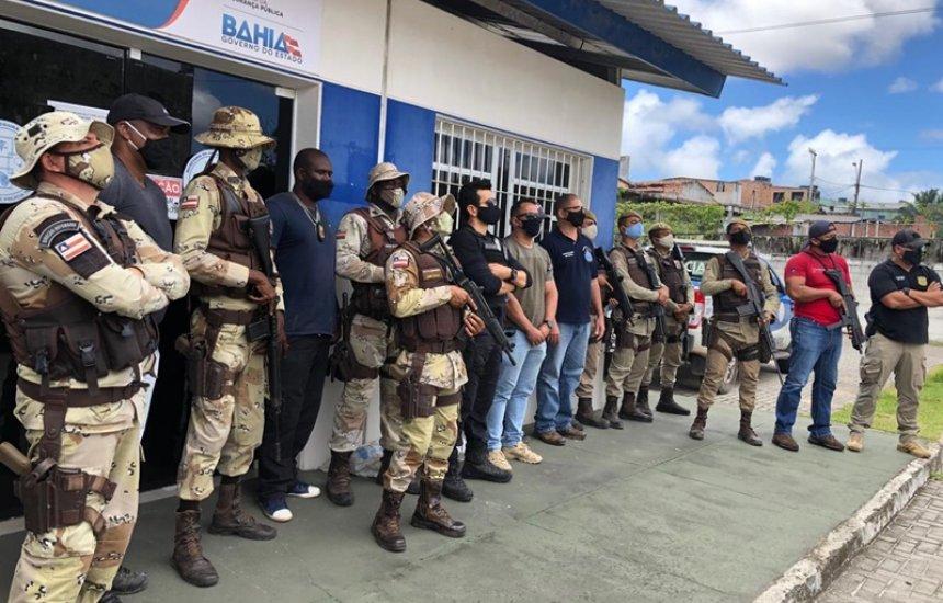 Camaçari: armas de fabricação caseira são apreendidas em operação entre as polícias Civil e Militar