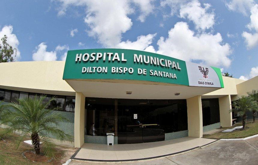 [Novos equipamentos hospitalares são instalados no Hospital Municipal de Dias D'Ávila]