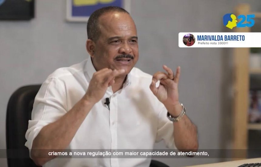 [Elinaldo ressalta em seu programa que saúde pública continuará sendo sua prioridade]