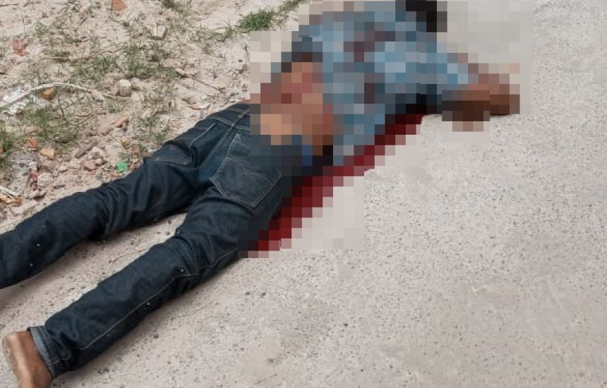Homem é morto a tiros no Phoc II