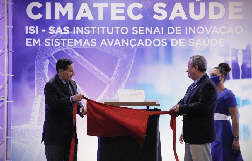 [Senai inaugura instituto de inovação em saúde em Salvador]