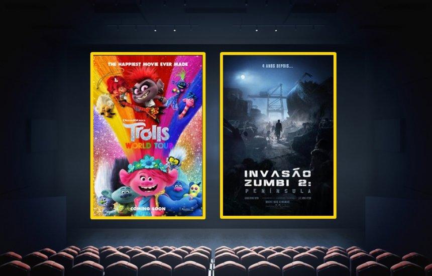 [Trolls 2 e Invasão Zumbi são as estreias da semana no cinema]