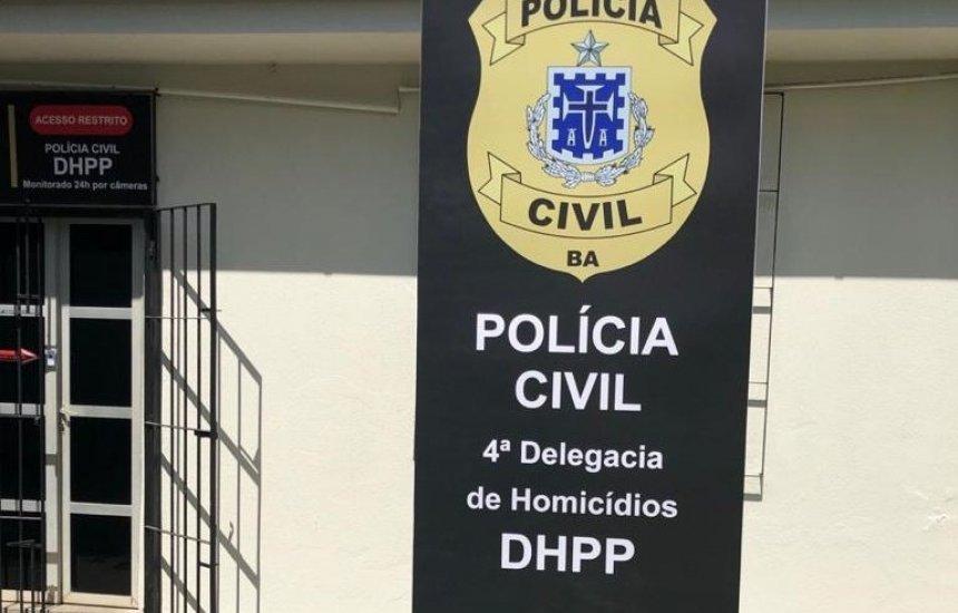 [4ª DH de Camaçari prende autor de duplo homicídio ocorrido em Pernambuco]