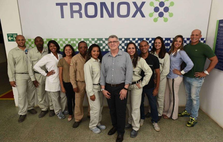 [Tronox eleita a melhor empresa entre químicas e petroquímicas]