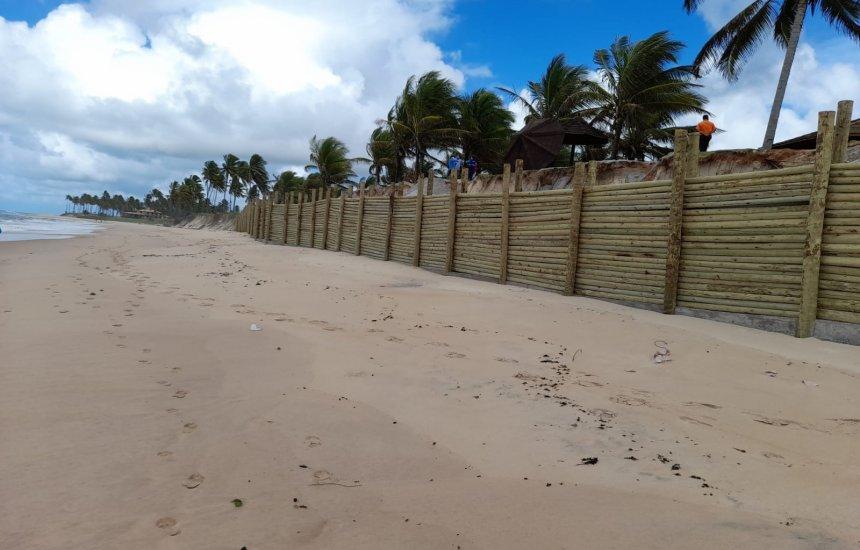 Sedur investiga construção irregular no Condomínio Paraíso do Mar, em Guarajuba