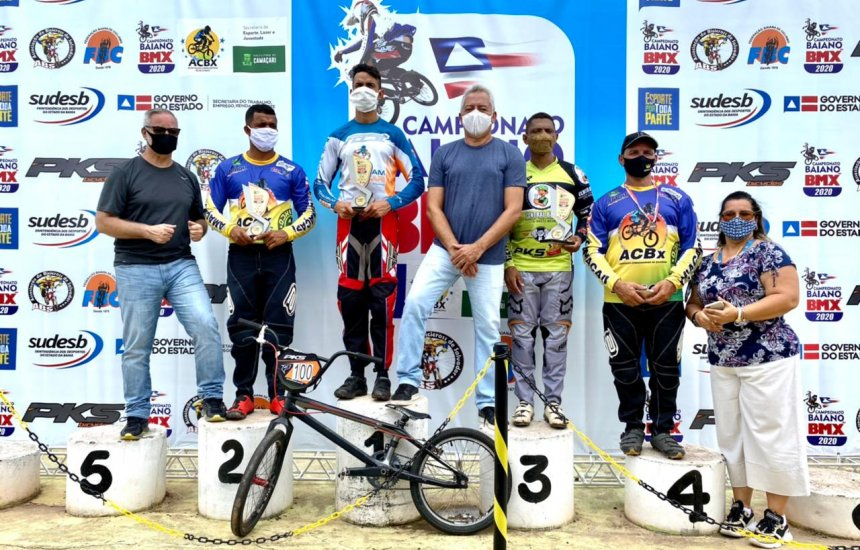 [1ª Etapa do Campeonato Baiano de Bicicross é realizada no Estádio Municipal]