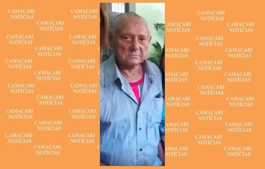 [Família procura por idoso desaparecido após sair de Camaçari]