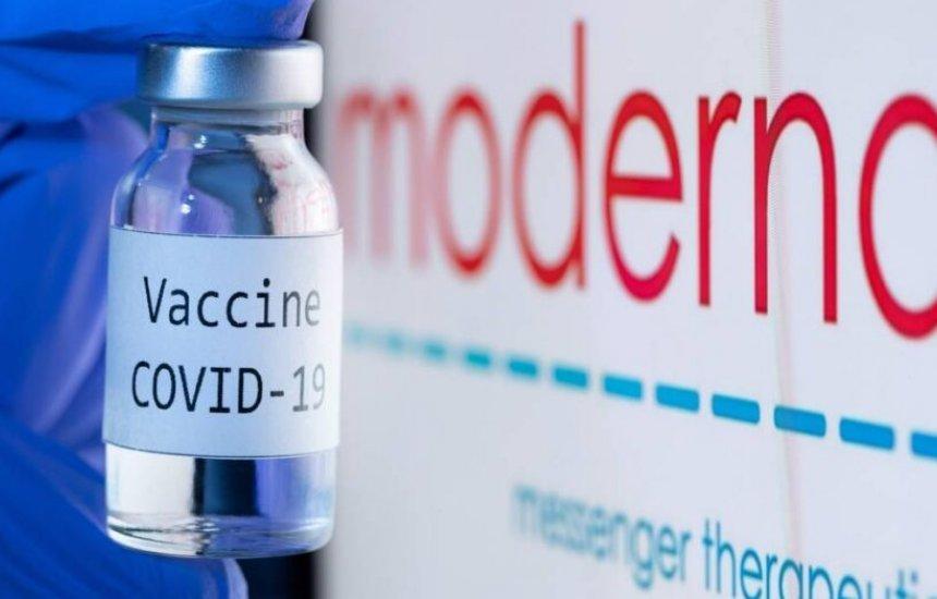 [Ministério da Saúde confirma acordo com a Moderna para compra de doses]
