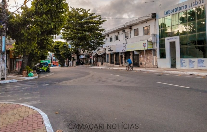 Medidas restritivas são prorrogadas em Camaçari até o dia 15 de março