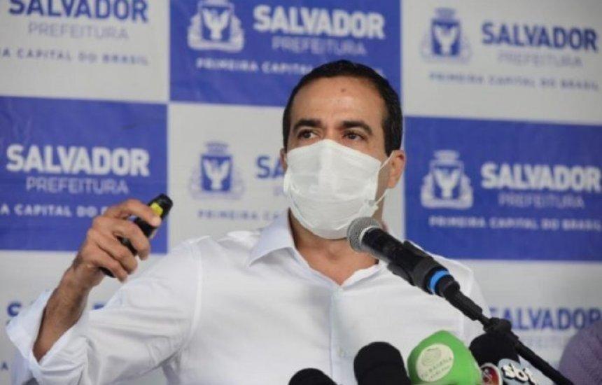 [Medidas restritivas diminuíram casos ativos em Salvador, avalia Bruno Reis]