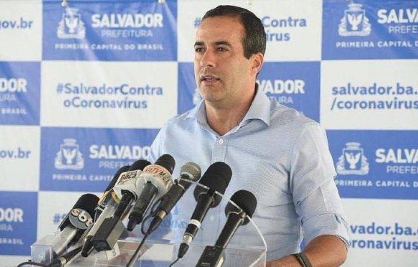 [Bruno Reis quer prorrogação do 'lockdown' em Salvador: 'Não há outra decisão a ser tomada']