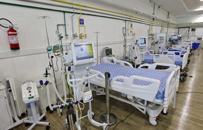 [Hospital de Campanha na Arena Fonte Nova abre 10 novos leitos de UTI para tratamento da Covid-19]