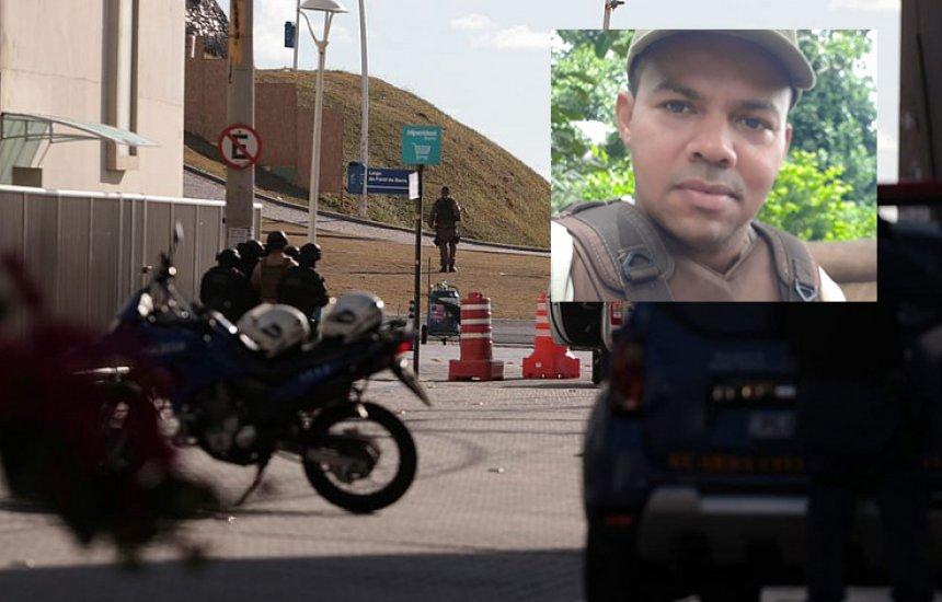 [Vídeo flagra momento em que PM atira em policiais e é baleado na região do Farol da Barra]