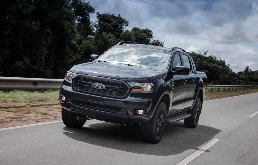 [Ford inicia venda da Ranger Black, nova picape urbana sofisticada]
