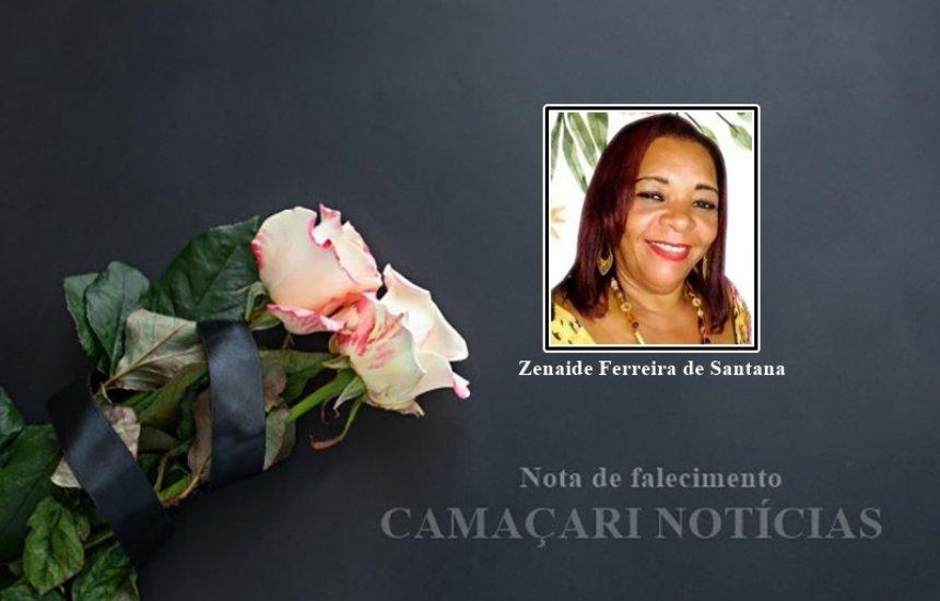 [Nota de Pesar: familiares e amigos lamentam pela morte da cantora 'Zene']